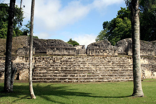 mayan royal palace