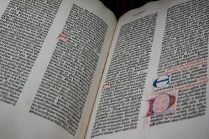 Guttenburg Bible, Morgan Library