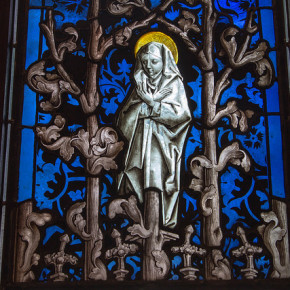 Mary Glass at the Cloisters