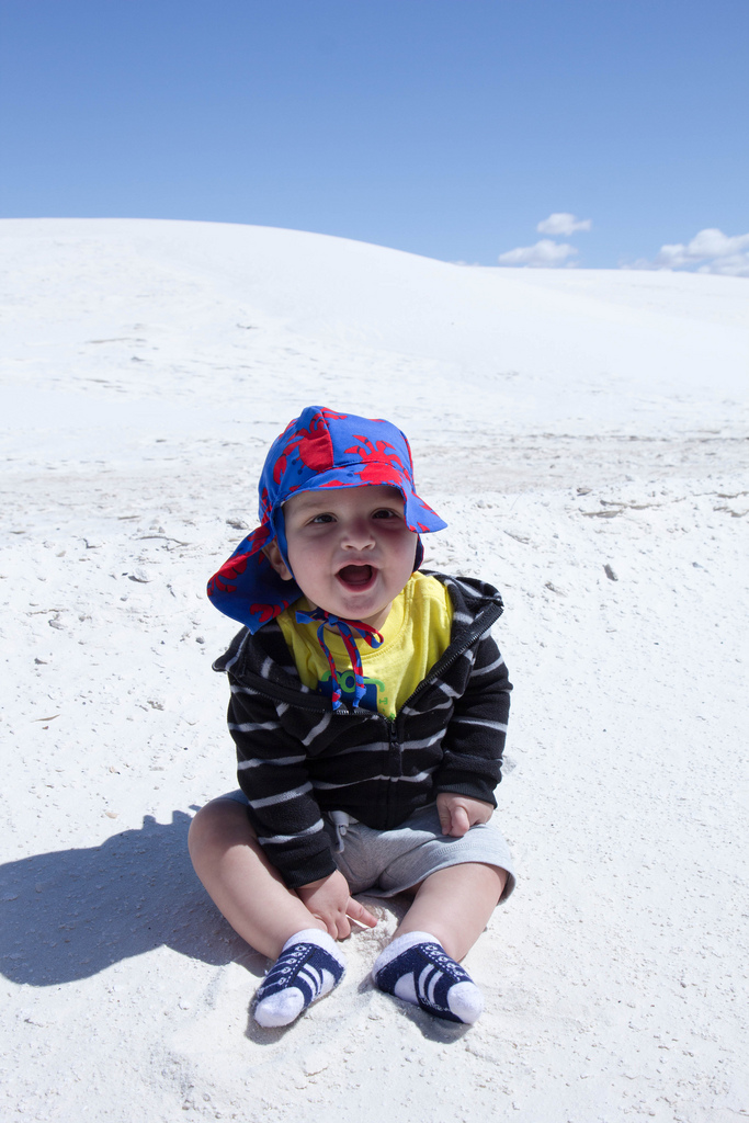 Oliver visits the White Sands National Monument in New Mexico.