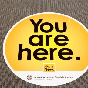 You Are Here - ELCA Churchwide Assembly