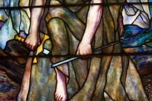 St. Michael breaking sword