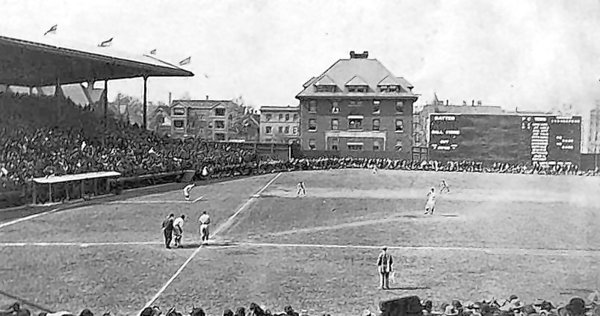 1914 Postcard of what is now Wrigely Field
