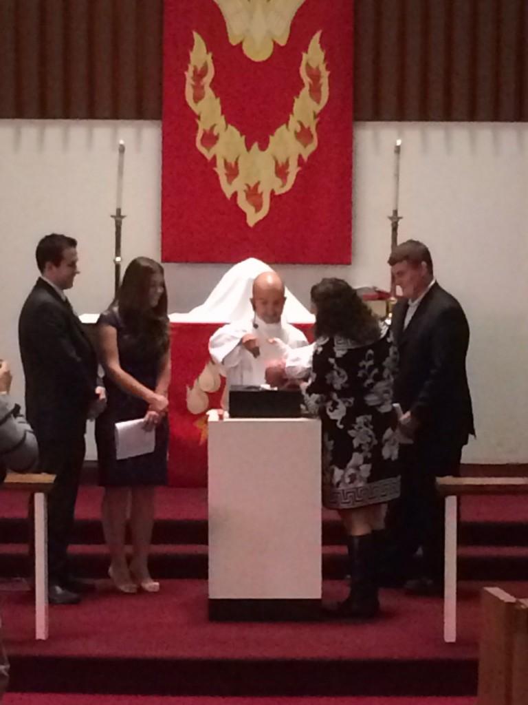 Pastor Marc, Baptism