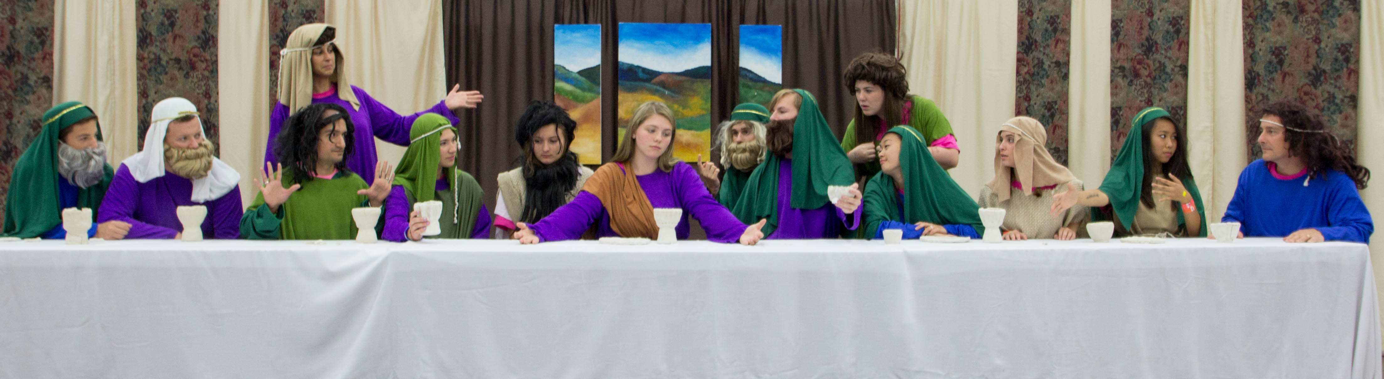 Lord's Supper, re-enacted