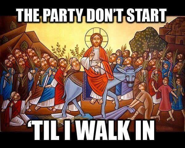A Wide Saddle: Jesus has a sidecar in Jerusalem